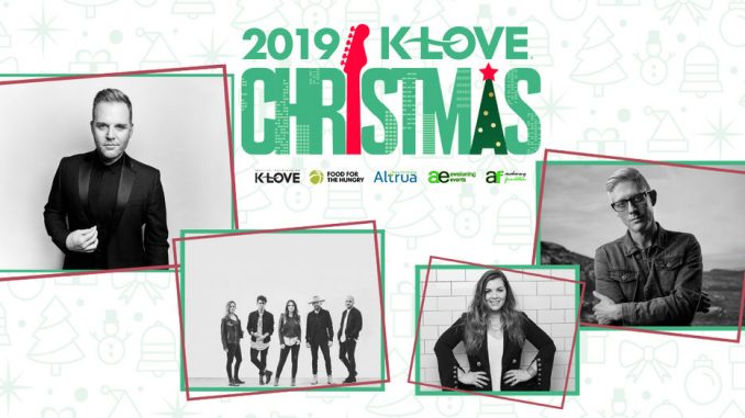 Klove Christmas Tour 2019.The K Love Christmas Tour Invites Fans To Celebrate The